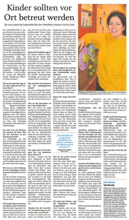 Pinneberger Tageblatt vom 04.05.2020