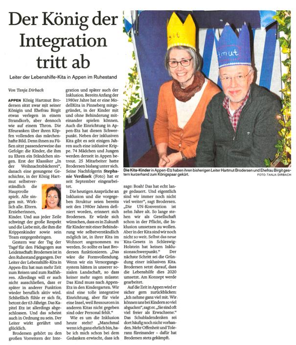 Pinneberger Tageblatt vom 21.12.2019
